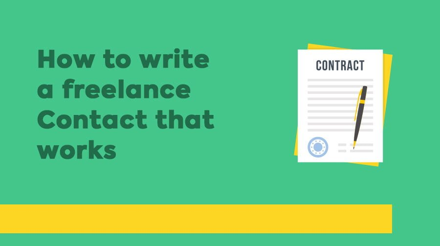 How to Write a Freelance Web Design Contract that Actually Works