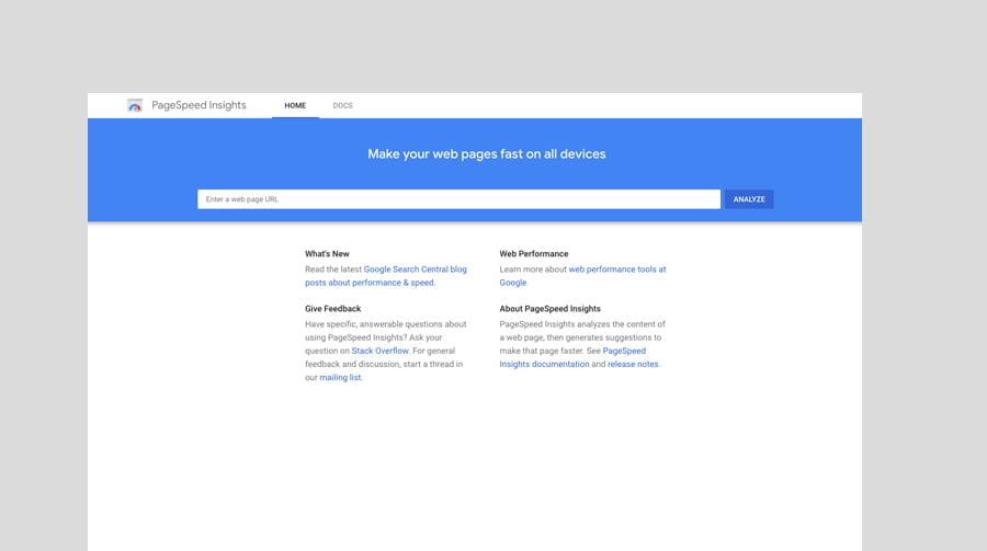 Optimise website for seo