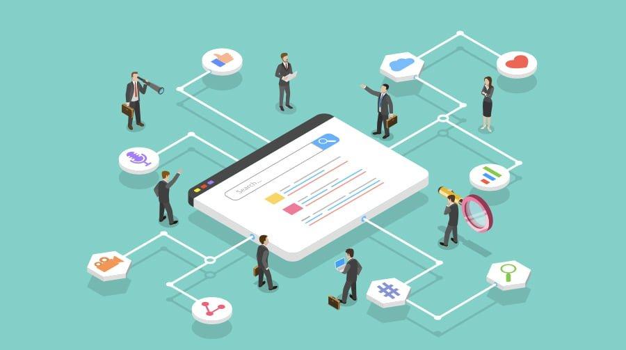 people networking on social media websites