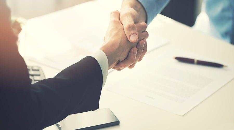 Successful freelance web design contract