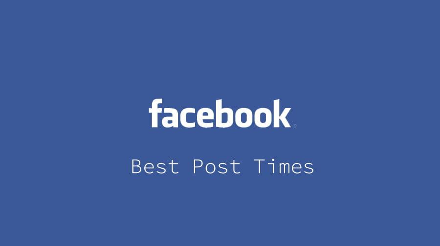 Facebook Posting Times
