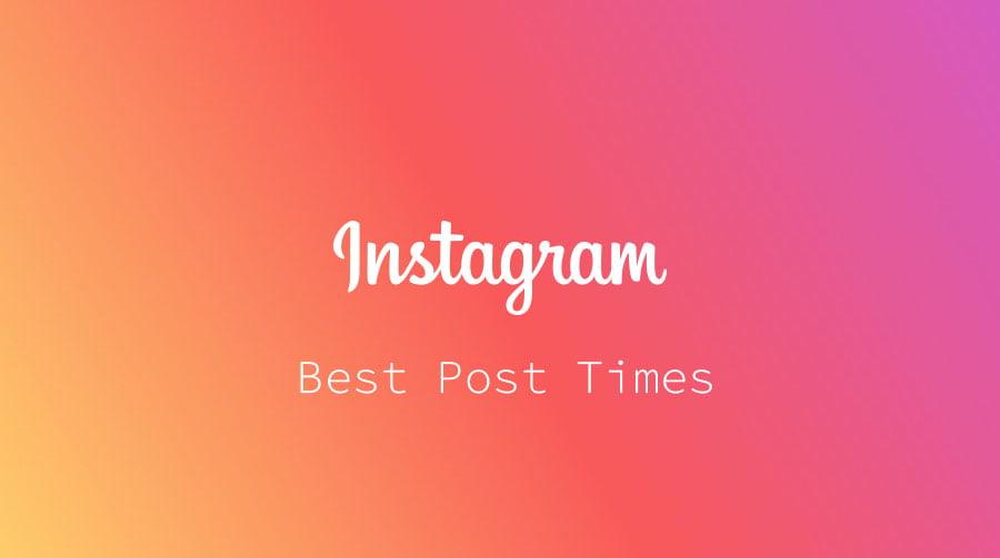 instagram posting times